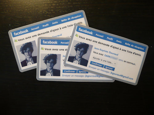 Facebook business cards facebook becoming rock star of social media there reheart Choice Image